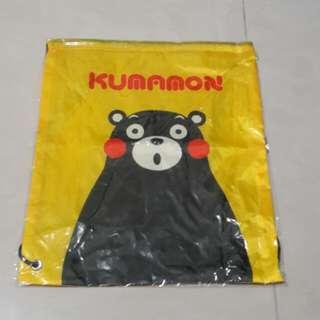 全新,熊本熊束口袋