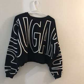 Oversized Custom made Crew neck sweater