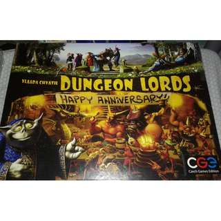 (Original) Dungeon Lords: Happy Anniversary board game CGE