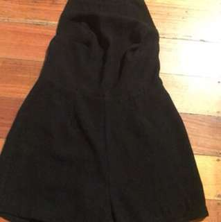 Backless playsuit size 8