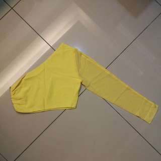 Toga Top in Yellow