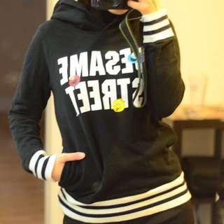 UNIQLO Sesame Street hoodies