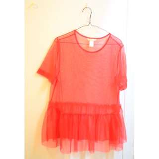 H&M meshed top