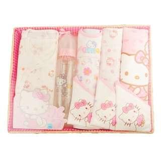 Hello Kitty凱蒂貓 嬰兒用禮品盒 (晶鑽奶瓶)
