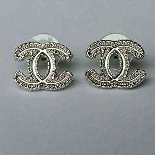 New Chanel inspired CC Stud earrings