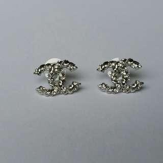 New Chanel Inspired CC Stud earrings