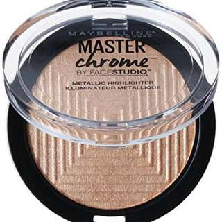 Instock maybelline Facestudio Master Chrome Metallic Highlighter