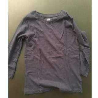 H&M Sweat Shirt (Navy Blue)