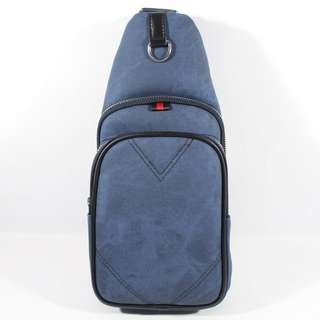 TAS SELEMPANG SHOULDER BAG BODYPACK IMPORT BRANDED | BALLY 787 BLUE