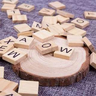🚚 拍婚紗小物木紋字母各式字母2-3個