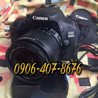 Canon eos 600d 550d 500d 450d also avail rebel and kiss model