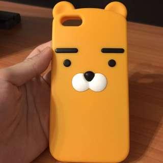 Kakao friends Korean character Ryan lion iphone 7 case