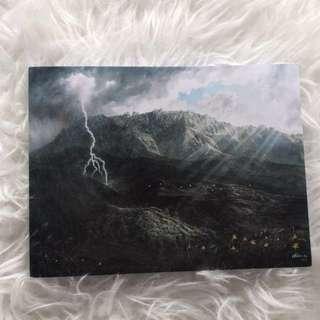 Artsy scenery high quality notebook