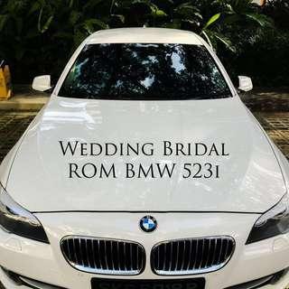 Wedding Bridal ROM - BMW 523i