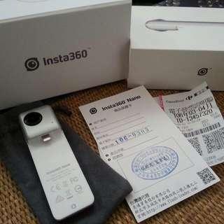 Insta 360° 全景相機 攝影機 魚眼 iphone7 可租 網拍 實境 非TR 自拍神器 swap 可換 ipad