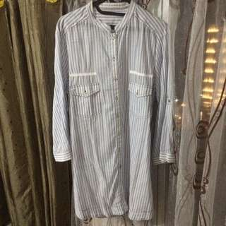 ZARA Stripes shirt [FREE ONGKIR JABODETABEK]