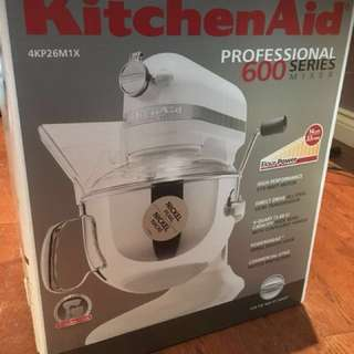 KitchenAid 6-Quart Professional Series-BRAND NEW- box has never been opened