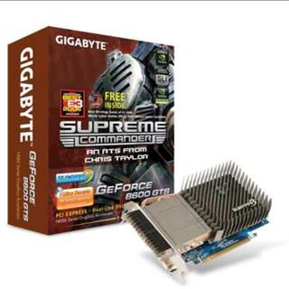 Gigabyte GV-NX86S256H Graphics card ** Dual DVI **