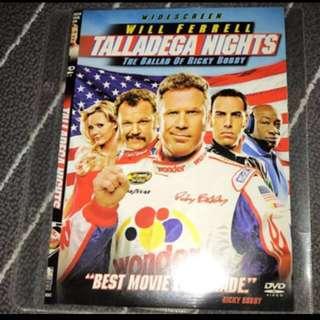 Talladega Nights Movie DVD