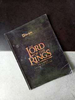LOTR movie monthly special edition