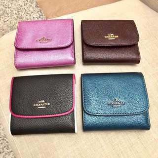 Coach Wallet Ladies Small New Authentic BNWT New