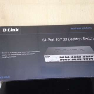 D-link 24 port switch