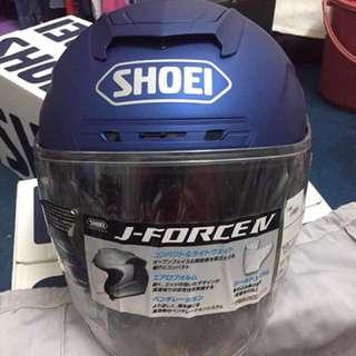 Helmet Shoei Jforce 4 Matte Blue RM1.35K Size M