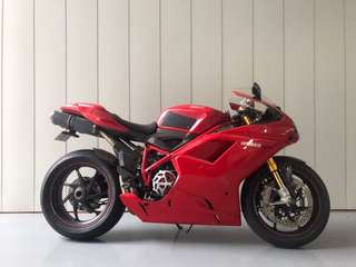 2011 Ducati 1198SP with full Ohlins (last of the dry clutch superbike)