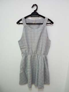 A Shape Grey Midi Dress