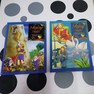 2 Fairy Tales books