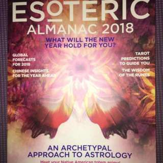 2018 Astrology magazine for sale!
