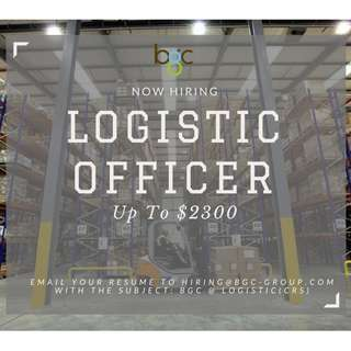 LOGISTIC OFFICER (UP TO $2300)