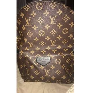 Large size lv Palm spring back pack
