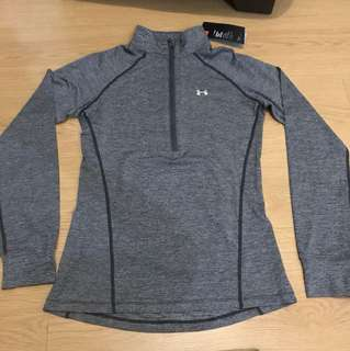 Under Armour Compression Heatgear for Women - Gray (Small)