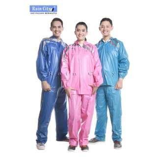 Jas Hujan Stelan Rockstar Rain City - 69128