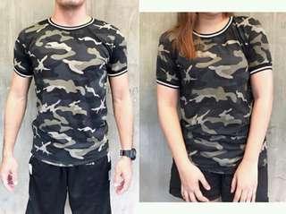 Unisex Camouflage Shirt