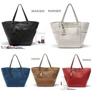 Mango TOTE Bag - BROWN ONLY