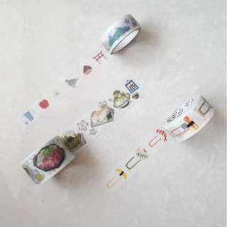 Japanese Theme Washi Samples