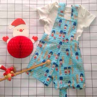 🎄✨‼️SALE‼️ GILBERT BABY BOY'S OVERALL for (6 months - 12 months)
