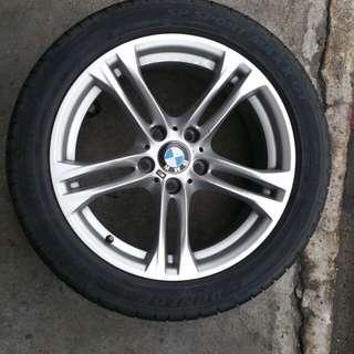 "Original BMW 18"" M-Sport 613M rim and tyre"