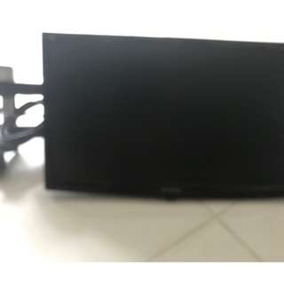 Viewsonic Monitor with Wall Mount