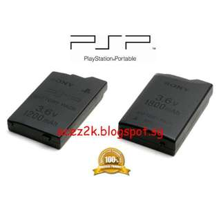 ORIGINAL Sony PSP Rechargeable Battery Pack PSP-110 (Mint)