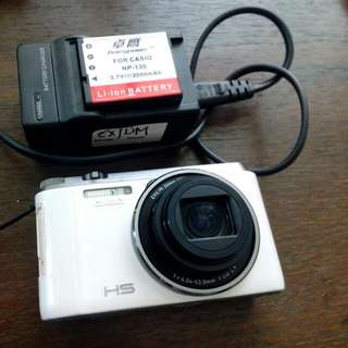 Selfie king Casio Exilim EXZR 1200 point&Shoot Camera (16.1MP) With 2 spare Batteries