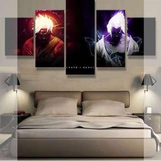 Naruto canvas poster