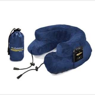 🚚 Cabeau 專利進化護頸充氣枕 黑色/藍色/灰色