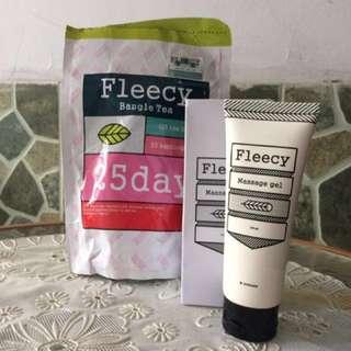 Fleecy Bangle Tea dan Fleecy Massage Gel