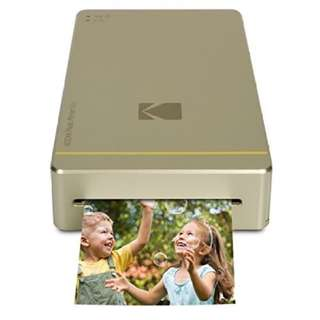 """BNIB. Kodak Mini Portable Mobile Instant Photo Printer - Wi-Fi & NFC Compatible - Wirelessly Prints 2.1 x 3.4"""" Images, Advanced DyeSub Printing Technology (White) Compatible with Android & iOS"""