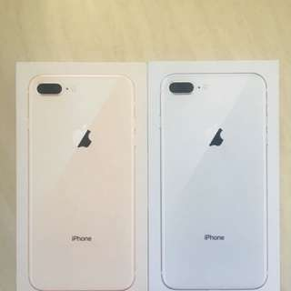 Two IPhone 8 Plus Box