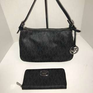 Michael Kors Handbag & Matching Wallet