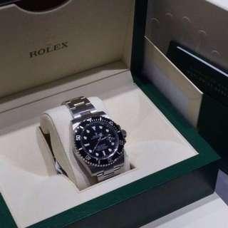 Brand new Rolex Submariner black ceramic bezel 116610LN